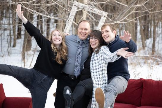 Rebecca Whitecotton and family