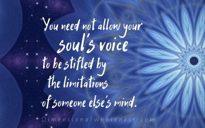 Listen to your soul's voice