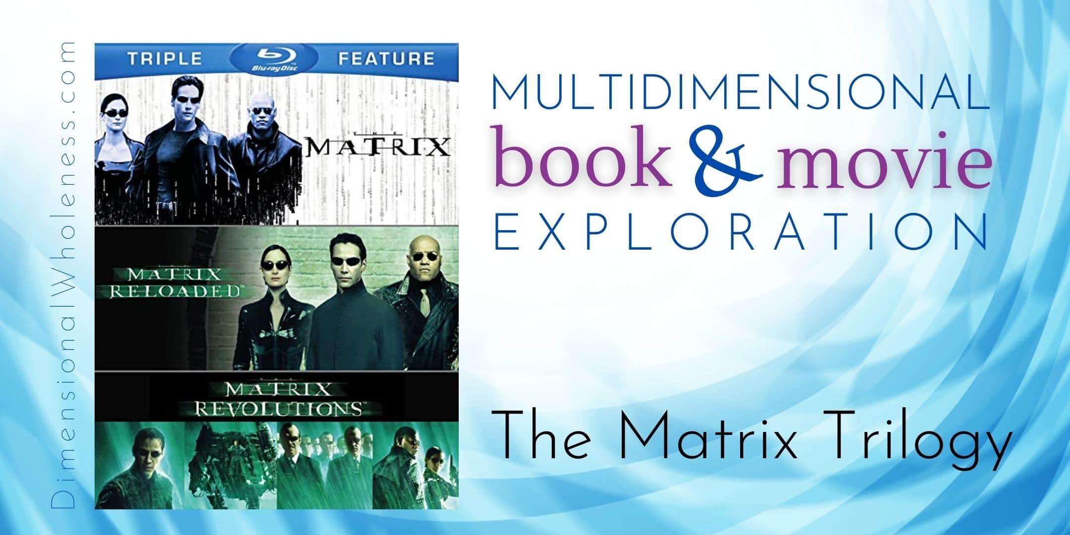 Multidimensional Book and Movie Exploration: The Matrix Trilogy