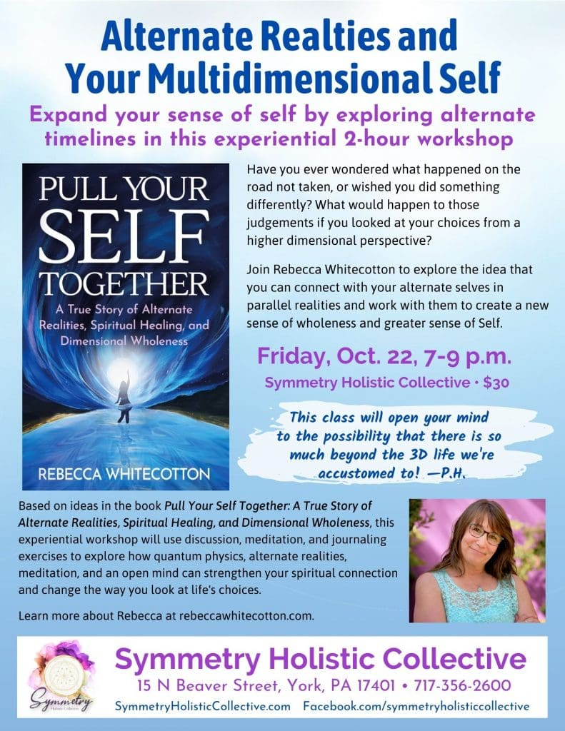 Alternate Realities and Your Multidimensional Self Workshop Flyer